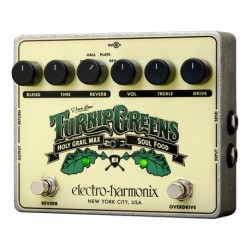 Electro-Harmonix EHXTUR - Pédale d'effet overdrive Turnip Greens