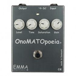 Emma Electronic EMMONO - Pédale d'effet overdrive OnoMATOpoeia