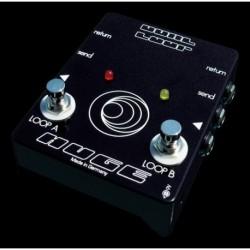 Huge Audio HUGEDL - Routeur pour pédale d'effet Dual Loop