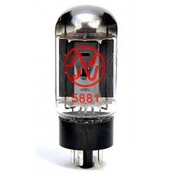 JJ Electronic JJ5881M4 - Lampe de Ampli de puissance 5881 quad appairé