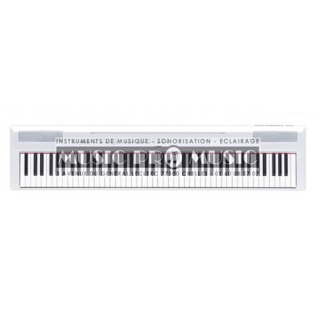 Yamaha P155WH - Piano numérique portable blanc