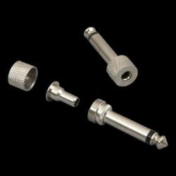 Lava Cable LCSPLG - Fiche droite sans soudure Nickel -S