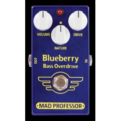 Mad Professor MADBLUF - Pédale d'overdrive pour basse Blueberry Bass Overdrive