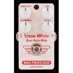 Mad Professor MADSNOBH - Pédale d'effet envelope filter Snow White Bass Auto Wah HW