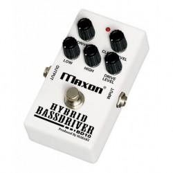 Maxon MAXBD10 - Pédale de distorsion pour basse BD-10 Hybrid Bassdriver