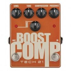 Tech 21 T21BCOM - Pédale d'effet compresseur Boost Comp