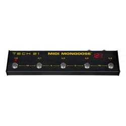 Tech 21 T21MON - Pédalier programmable MIDI Mongoose