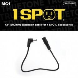 Truetone VSMC1 - Adaptateur secteur pour pédale d'effet 1 Plug Cable