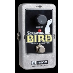Electro-Harmonix EHXSCRBRD - Pédale d'effet booster Screaming Bird