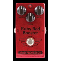 Mad Professor MADRUBF - Pédale d'effet booster Ruby Red Booster