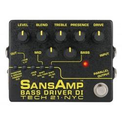 Tech 21 T21SABDI2 - Préampli pour basse Bass Driver D.I. V2