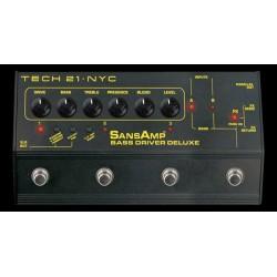 Tech 21 T21BDIP - Préampli pour basse Bass Driver Deluxe