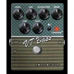 Tech 21 T21CS-VT - Préampli pour basse Character VT Bass V2