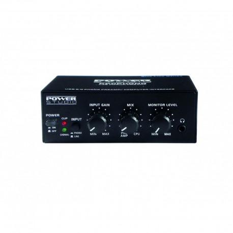 Power Studio PPD-PHONO - Convertisseur analogique numérique USB