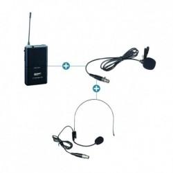 Power Acoustics PT-37-4700UHF - Micro casque pour récepteur 3700 et 4700 UHF sans fil