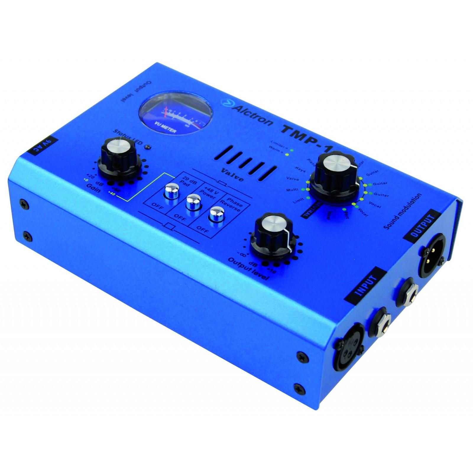 Alctron Tmp 1 Preampli Micro Xlr A Lampe