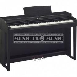 Yamaha CLP-525B - Piano numérique noir satiné avec meuble