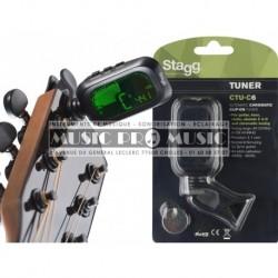 Stagg CTU-C6 - Accordeur chromatique automatique