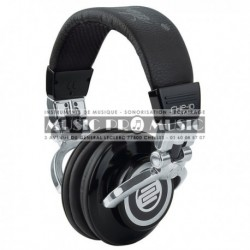 Reloop RHP-10-SOLID - Casque Dj pro chrome