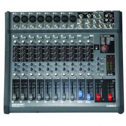 Power Acoustics MX12USB - Table de mixage 8 canaux avec effets