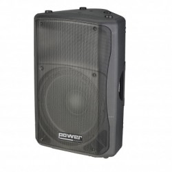 "Power Acoustics EXPERIA-15A-MK2 - Enceinte active 15"" 300w MP3"