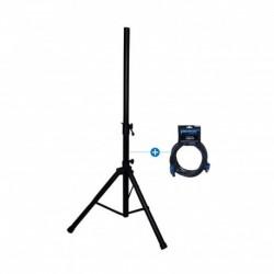 Power Acoustics TESLA15-STAND - Pied enceinte + câble Speakon pour Tesla 15