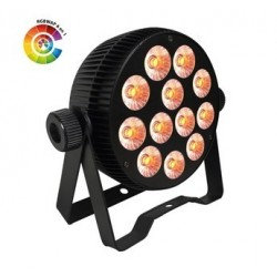 Power Lighting PAR_12X10W_HE - PAR slim 12x10W RGBW 6in1