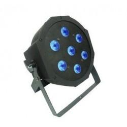 Power Lighting PAR SLIM 7x9W QUAD - PAR slim eco 7x9W RGBW 4in1