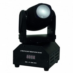 Power Lighting LY-BE-104IN1 - Lyre beam 10W RGBW 4in1
