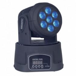 Power Lighting LYRE WASH 84W QUAD - Lyre wash 7x12W RGBW 4in1