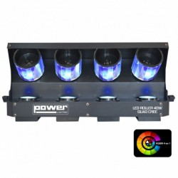 Power Lighting ROLLER40WQUAD - Roller Scan 4x10W RGBW Cree 4in1