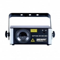 Power Lighting NEP-200GBC-MK2 - Laser Vert Bleu Cyan GBC 200mW Pro