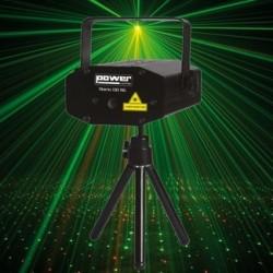 Power Lighting STARIO-130-RG - Effet laser compact + télécommande