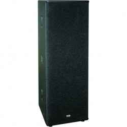 Definitive Audio D2215 - Enceinte passive 2x 15 pouces + 1 tweeter 2000w max