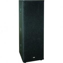 Definitive Audio D2215 - Enceinte passive 2x 15 pouces + 1 tweeter 2000w max