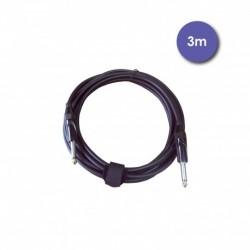 Power Studio AUDIOCAB 4028 - Câble 3m - JACK MONO Mâle - JACK MONO Mâle