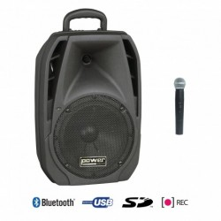 Power Acoustics BE_4400_MK2 - Sono Portable USB + SD CARD + 1 Micro Main + Bluetooth