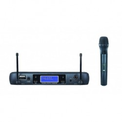 Power Acoustics BE-8013-MH - Micro UHF 1 Micros main HF -