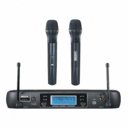 Power Acoustics BE-8014-MH - Micro UHF 2 Micros main HF