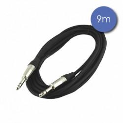 Power Acoustics CAB_2012 - Câble 9m - JACK STEREO Mâle - JACK STEREO Mâle