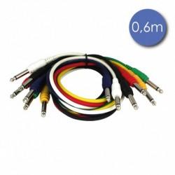 Power Acoustics CAB-2051 - Câble 0,6m - JACK MONO Mâle - JACK MONO Mâle