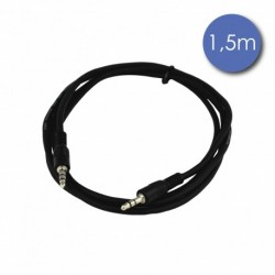 Power Acoustics CAB 2058 - Câble 1,5m - MINI JACK STEREO Mâle - MINI JACK STEREO Mâle