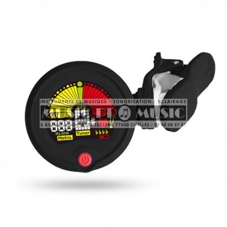 Eno Music ENO-EMT-300 - Accordeur chromatique et métronome a clip
