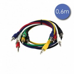 Power Acoustics CAB-2200 - Câble 0,6m - MINI JACK MONO Mâle - MINI JACK MONO Mâle