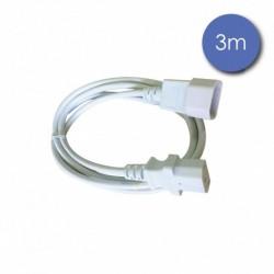 Power Acoustics CAB 2219 - Câble 3m - SHUCKO Mâle - SHUCKO Femelle