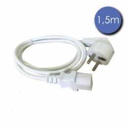Power Acoustics CAB-2220 - Câble 1,5m - SHUCKO Femelle - Prise électrique