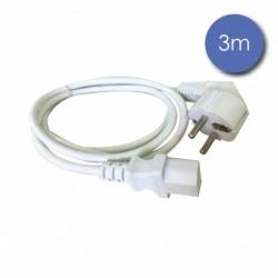 Power Acoustics CAB-2221 - Câble 3m - SHUCKO Femelle - Prise électrique