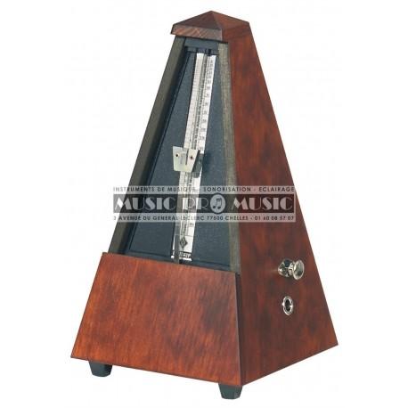 Wittner 811M - Metronome mécanique en bois acajou mat