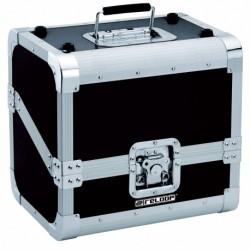 Reloop 80 CASE 50/50 SLANTED BLACK - Valise Rangement 80 Vinyles Avec Séparation