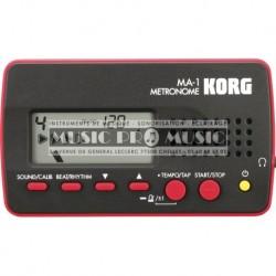 Korg MA-1-BKRD - Metronome noir et rouge